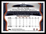 2013 Topps #304  Tim Jennings  Back Thumbnail