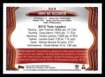 2013 Topps #323   Tampa Bay Buccaneers Team Back Thumbnail