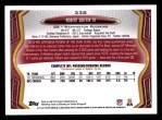 2013 Topps #338  Robert Griffin III  Back Thumbnail