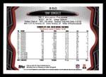 2013 Topps #350  Tony Gonzalez  Back Thumbnail