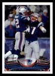 2013 Topps #369   New England Patriots Team Front Thumbnail