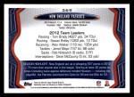 2013 Topps #369   New England Patriots Team Back Thumbnail