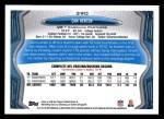 2013 Topps #390  Cam Newton  Back Thumbnail