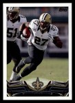 2013 Topps #409  Malcolm Jenkins  Front Thumbnail