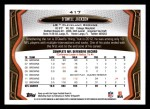 2013 Topps #417  D'Qwell Jackson  Back Thumbnail