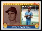 1983 Topps #71   -  Steve Carlton Super Veteran Front Thumbnail