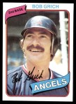 1980 Topps #621  Bobby Grich  Front Thumbnail