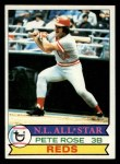 1979 Topps #650  Pete Rose  Front Thumbnail