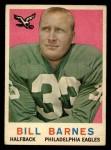 1959 Topps #25  Bill Barnes  Front Thumbnail