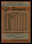 1978 Topps #100  Phil Esposito  Back Thumbnail