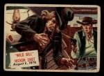 1954 Topps Scoop #122 xCOA  Wild Bill Hickok Shot Front Thumbnail