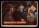 1956 Topps Davy Crockett Green Back #42   Norton's Scheme  Front Thumbnail