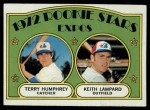 1972 Topps #489   -  Terry Humphrey / Keith Lampard Expos Rookies   Front Thumbnail