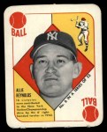 1951 Topps Red Back #6  Allie Reynolds  Front Thumbnail