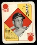 1951 Topps Red Back #35  Al Rosen  Front Thumbnail