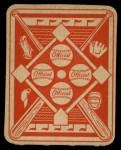 1951 Topps Red Back #6  Allie Reynolds  Back Thumbnail