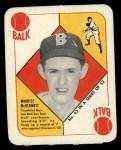1951 Topps Red Back #43  Mickey McDermott  Front Thumbnail