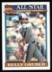 1991 Topps #388   -  Kelly Gruber All-Star Front Thumbnail