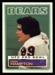 1983 Topps #30  Dan Hampton  Front Thumbnail