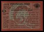 1983 Topps #96  Jack Youngblood  Back Thumbnail