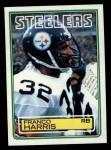 1983 Topps #362  Franco Harris  Front Thumbnail