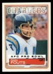 1983 Topps #374  Dan Fouts  Front Thumbnail