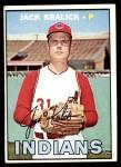 1967 Topps #316  Jack Kralick  Front Thumbnail