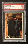 1958 Topps Zorro #14   Ready To Strike Front Thumbnail