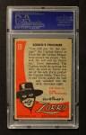 1958 Topps Zorro #19   Zorros Prisoner Back Thumbnail