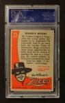 1958 Topps Zorro #23   Diegos Defeat Back Thumbnail