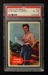 1956 Topps / Bubbles Inc Elvis Presley #17   Studying the Script Front Thumbnail