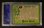 1957 Topps Robin Hood #6   Sinister Plot Back Thumbnail