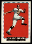 1964 Topps #138  Claude Gibson  Front Thumbnail