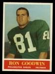 1964 Philadelphia #133  Ron Goodwin   Front Thumbnail