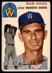 1954 Topps #189 COR Bob Ross  Front Thumbnail