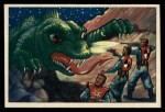 1951 Bowman Jets Rockets and Spacemen #30   Slaying Deimos Rock Dragon Front Thumbnail