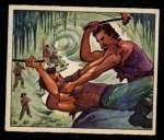 1949 Bowman Wild West #5 G  Villians' Cave Front Thumbnail