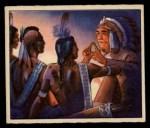 1949 Bowman Wild West #5 B  Sign Language Front Thumbnail