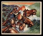 1950 Bowman Wild Man #38   Red Sea Death Front Thumbnail