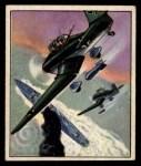 1950 Bowman Wild Man #56   Dive Bomber Front Thumbnail