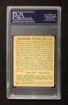 1935 Diamond Stars #54 ERR Hank Greenberg   Back Thumbnail