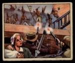 1949 Bowman Wild West #11 D  Rushing Stockade Front Thumbnail