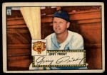 1952 Topps #28  Jerry Priddy  Front Thumbnail