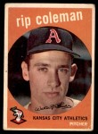 1959 Topps #51  Rip Coleman  Front Thumbnail
