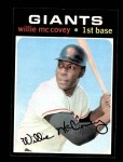 1971 Topps #50  Willie McCovey  Front Thumbnail