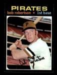 1971 Topps #255  Bob Robertson  Front Thumbnail