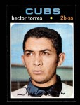 1971 Topps #558  Hector Torres  Front Thumbnail