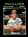 1971 Topps #739  Barry Lersch  Front Thumbnail