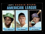 1971 Topps #633   -  Bobby Brooks / Pete Koegel / Scott Northey AL Rookies - Outfielders Front Thumbnail