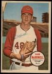1967 Topps Pin-Ups #8  Sam McDowell  Front Thumbnail